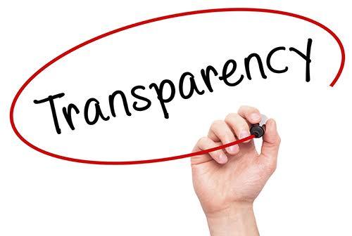 شفافیت اثربخشی فرایند پیاده سازی سیستم مدیریت فرایند از سه منظر اصلی Transparency طراحی سایت